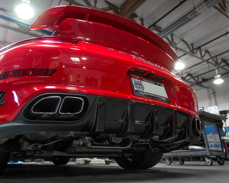 Estrattore posteriore in carbonio cat Agency Power per 911 Turbo - f-tech-motorsport-shop