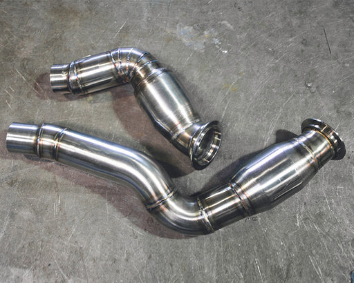 Downpipe cat 200celle Agency Power per Bmw M3 (F80)/M4 (F82-F83) - f-tech-motorsport-shop
