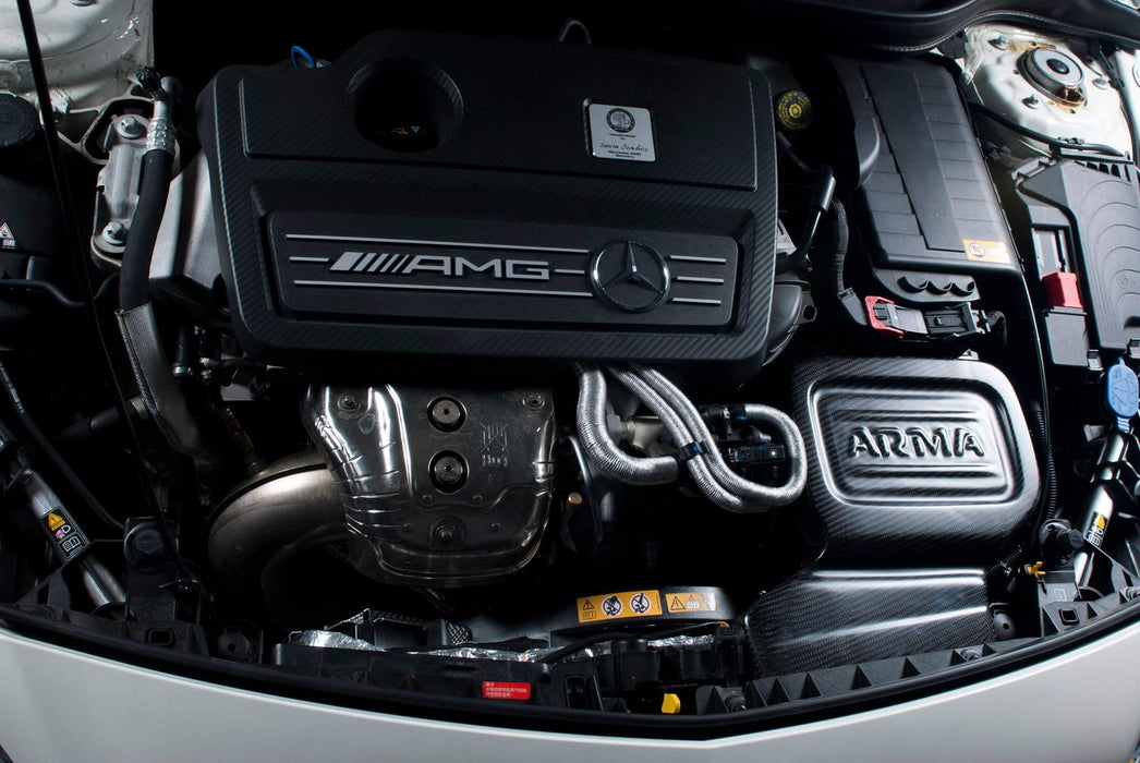Arma Speed: Carbon Fiber air intake - Mercedes A45/CLA45 AMG - f-tech-motorsport-shop