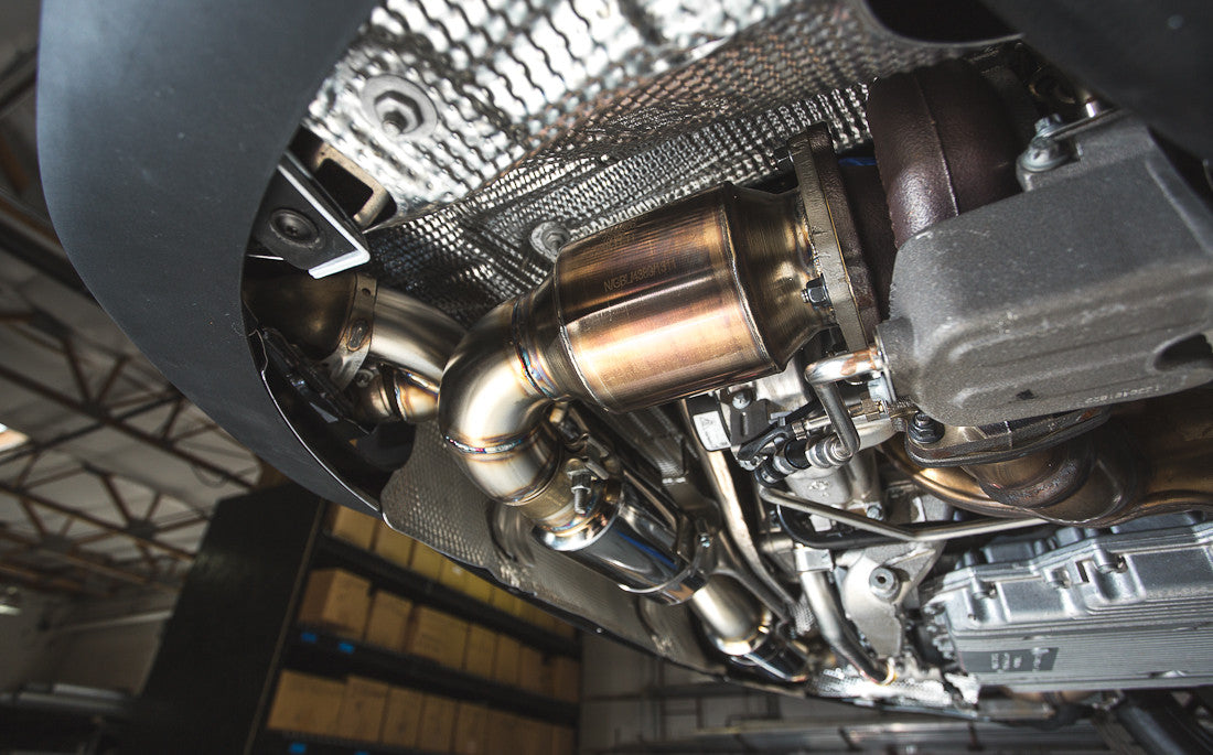 Agency Power: Downpipe cat 200celle - Porsche 911 turbo - f-tech-motorsport-shop