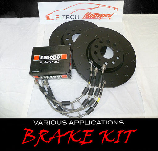 Kit freni/ Brake kit per Audi s3 VW Golf 7 R/Gti Mini cooper s r56/f56 - f-tech-motorsport-shop