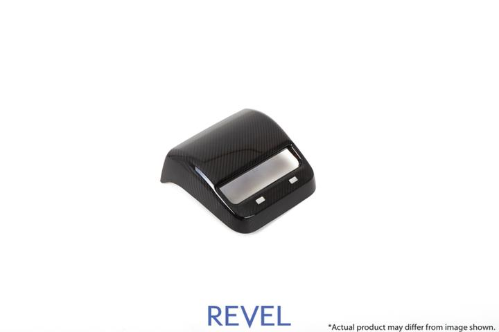 REVEL: COVER posteriole controllo A/C in Carbonio - TESLA 3 (2019-2020)