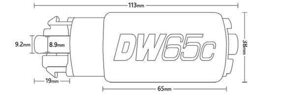DW65c Pompa Carburante - f-tech-motorsport-shop