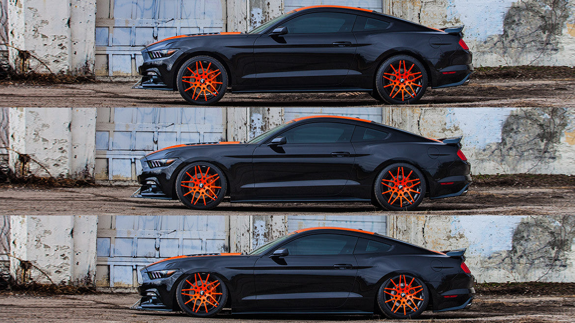 AirLift Kit posteriore Ford Mustang 2.3 EcoBoost/5.0 V8 - f-tech-motorsport-shop