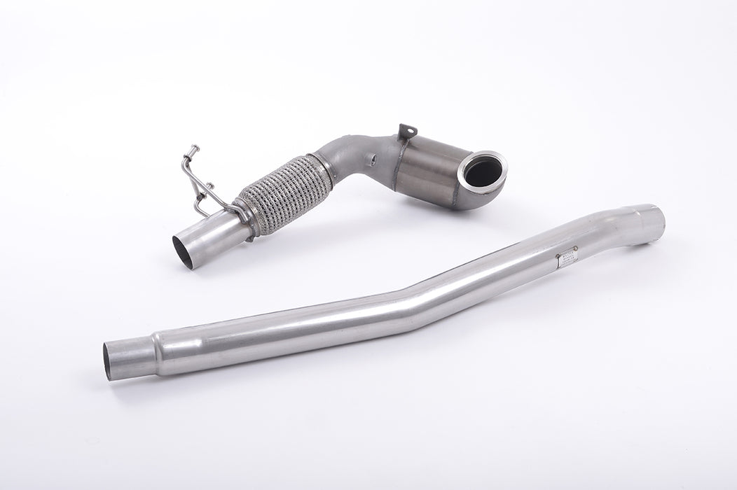 Downpipe De-Cat/Cat 200celle Milltek 2.0 MQB Audi TTS Mk3 - f-tech-motorsport-shop