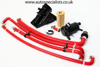 AIRTEC Motorsport Two-Piece Breather System for Focus Mk2 ST & RS - f-tech-motorsport-shop