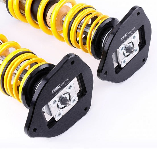 ST Suspensions coilovers XTA con camber plade Audi A1/VW Polo/Seat Ibiza - f-tech-motorsport-shop