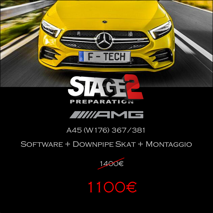 STAGE 2 - MERCEDES A45 AMG - PROMO BF