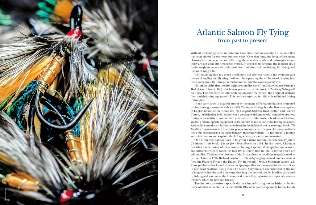 Atlantic Salmon Flies / Mouches pour le saumon atlantique (English/French)