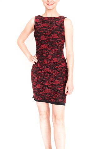 DRESS - Ines in pique material (in various colors and patterns)