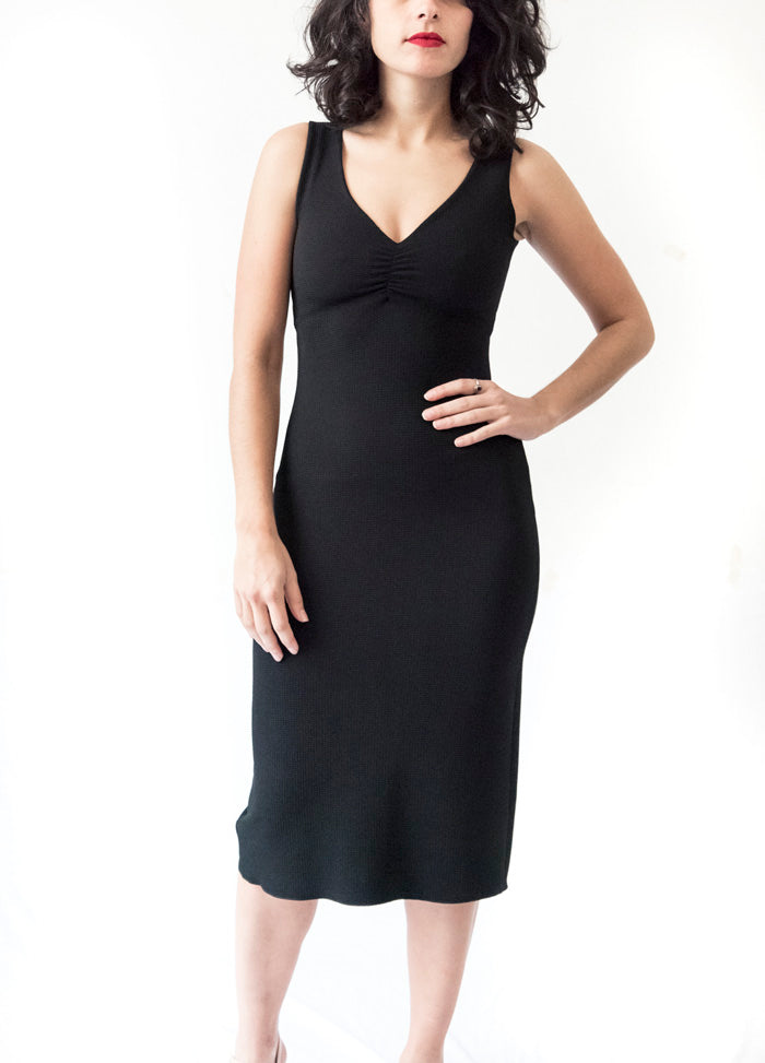 DRESS - Pencil Dress in Piqué (in various colors)