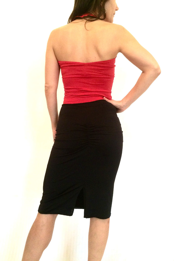 SKIRT - Pencil skirt (in various colors) (shown with different TOPS - look for these in our TOPS section)