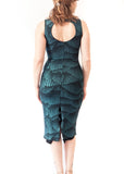 DRESS - Jacky Tokyo pencil dress in shiny material (in various colors)