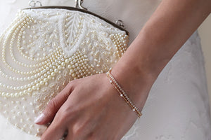 Stackable Bracelets for the Bride