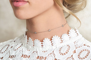 The Necklace Guide for the High Neckline: Choker Necklaces