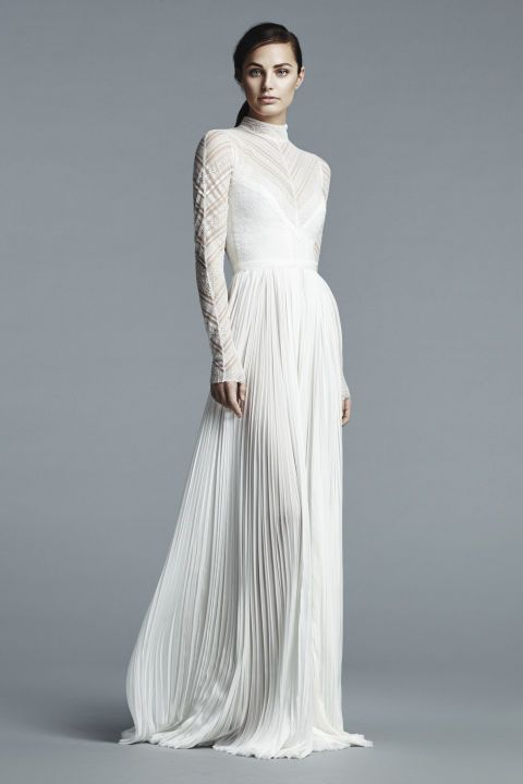 How to Accessorize your High Neck Wedding Dress – Amy O. Bridal