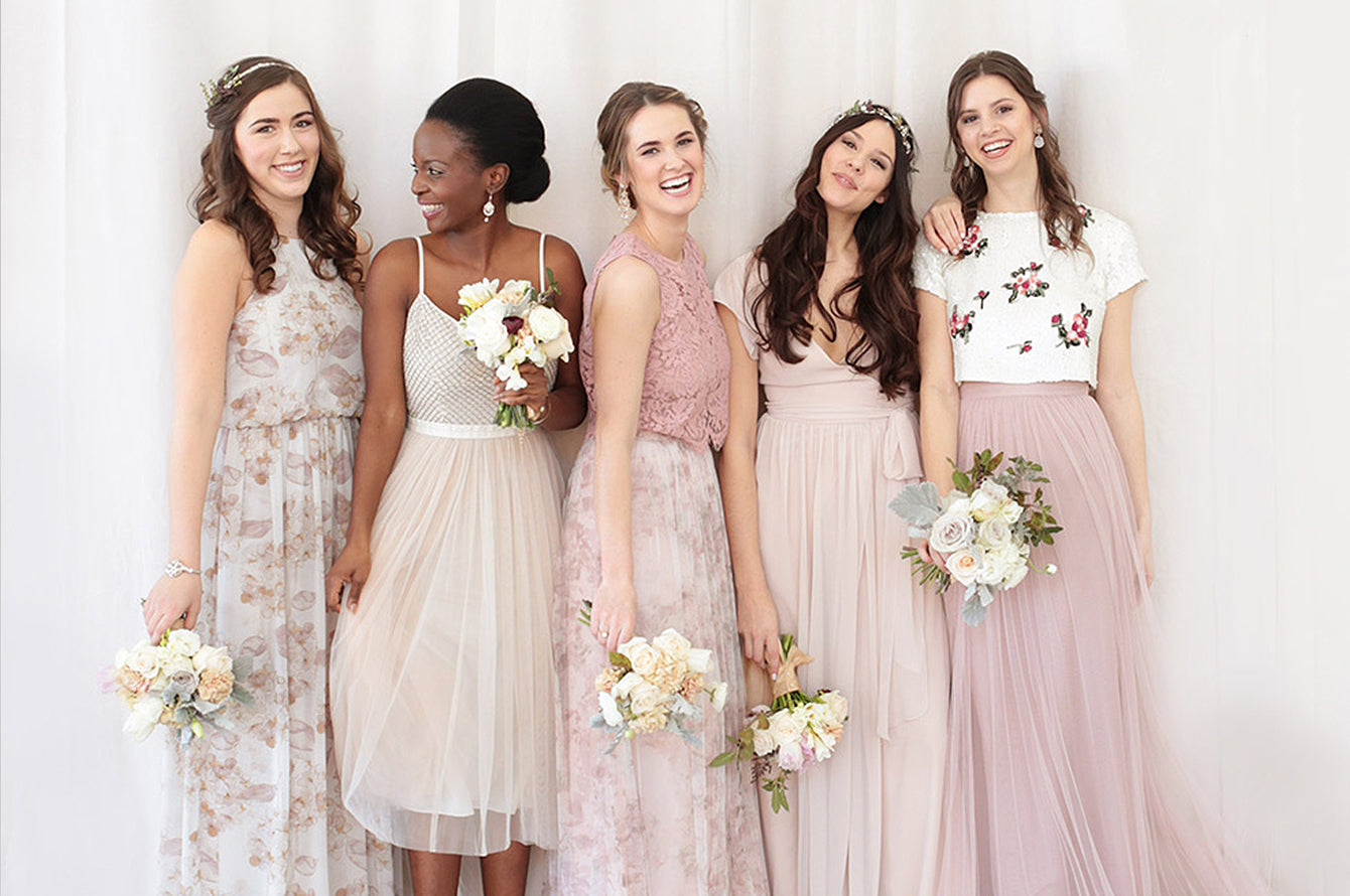 Bridesmaid Dress Trends For 2018 Amy O Bridal