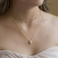 Margaux Teardrop Necklace MM