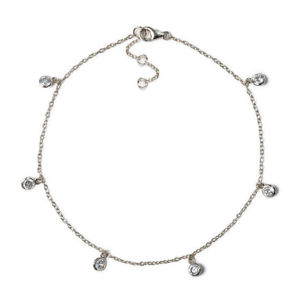 Dangle Crystal Anklet