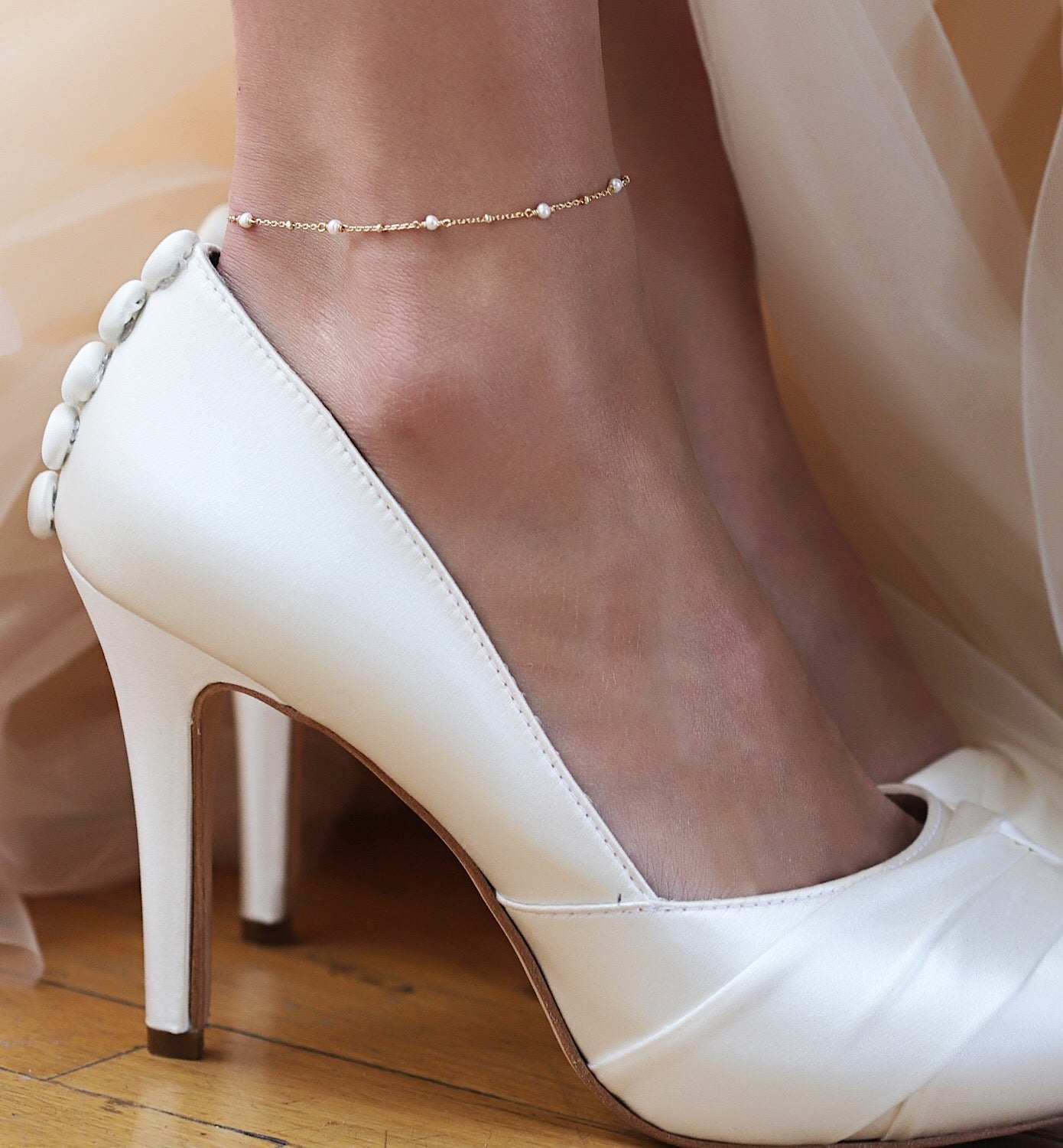 Pearl Chain Anklet