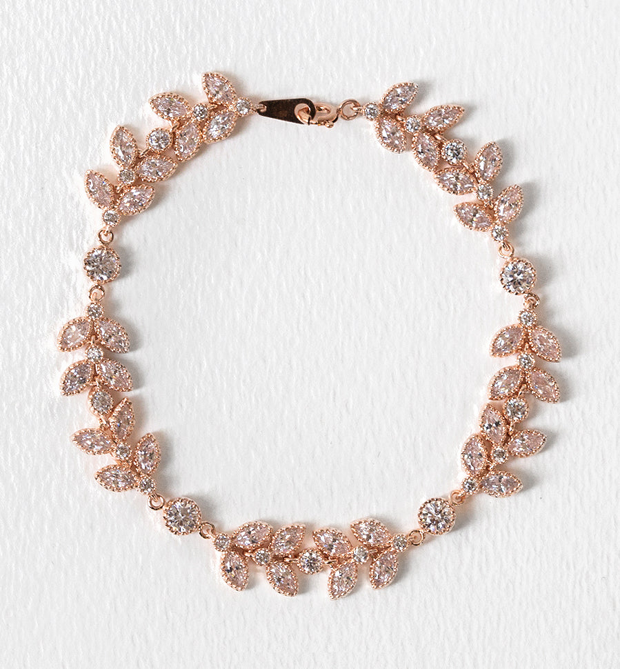 Monet Floral Bracelet - Amy O. Bridal