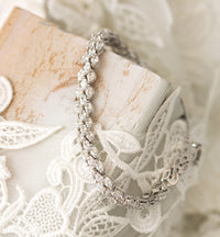Marquise Lux Tennis Bracelet - Amy O. Bridal