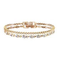 Regal Petite and Mosaic Tennis Bracelets