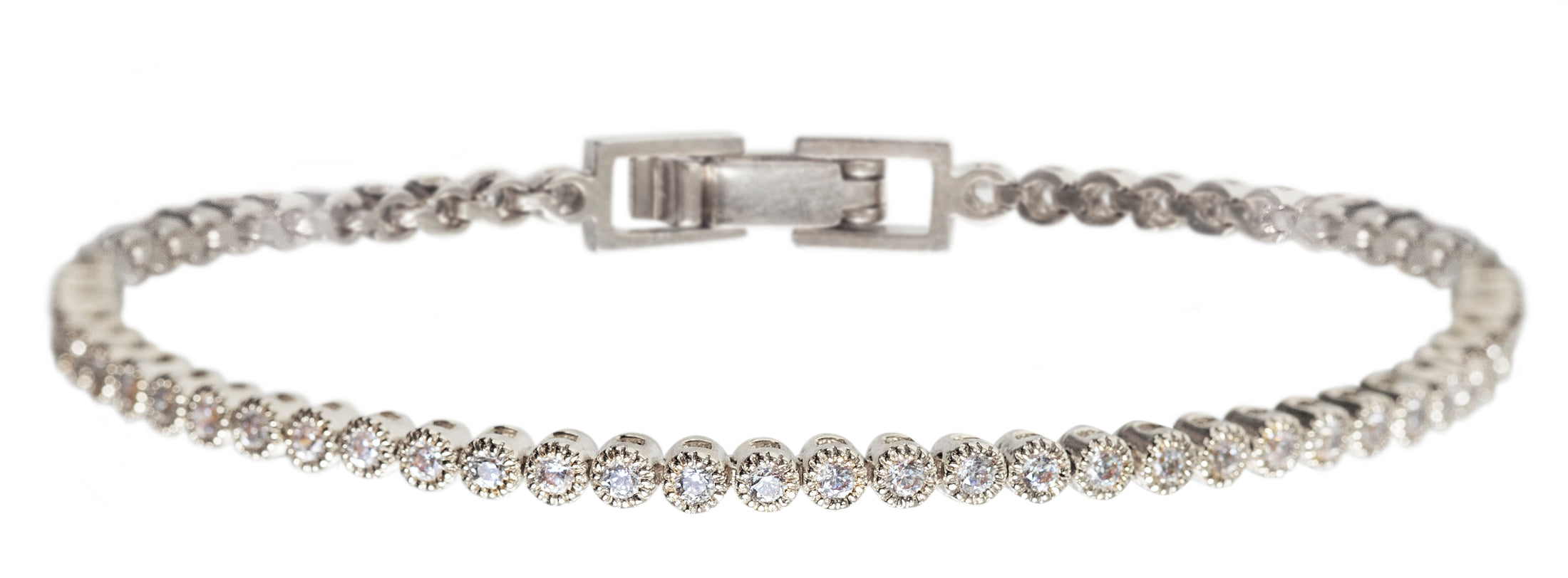 Regal Petite & Deco Classic Tennis Bracelets - Amy O. Bridal