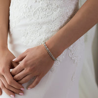 Regal Petite Tennis Bracelet - Amy O. Bridal