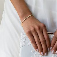 Regal Petite & Mosaic Tennis Bracelets - Amy O. Bridal