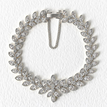 Monet Eternity Floral Bracelet
