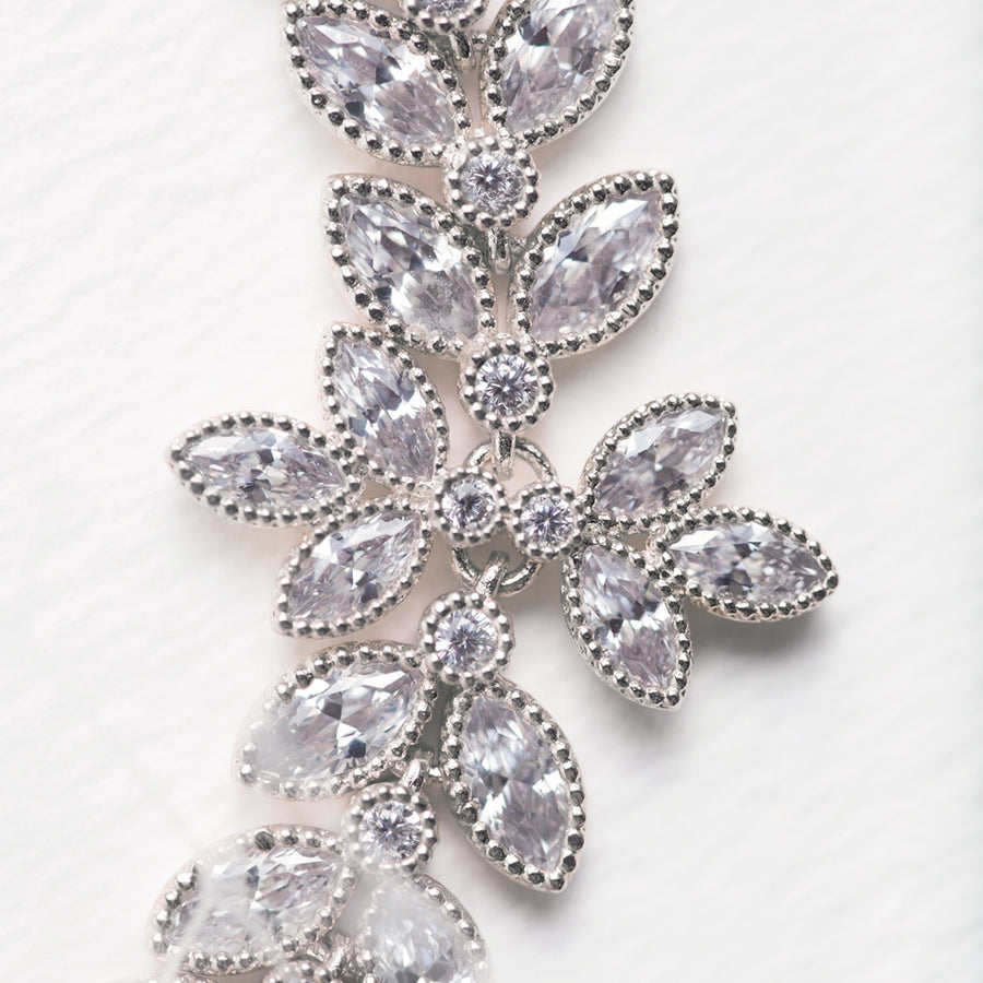 Monet Eternity Floral Bracelet - Amy O. Bridal