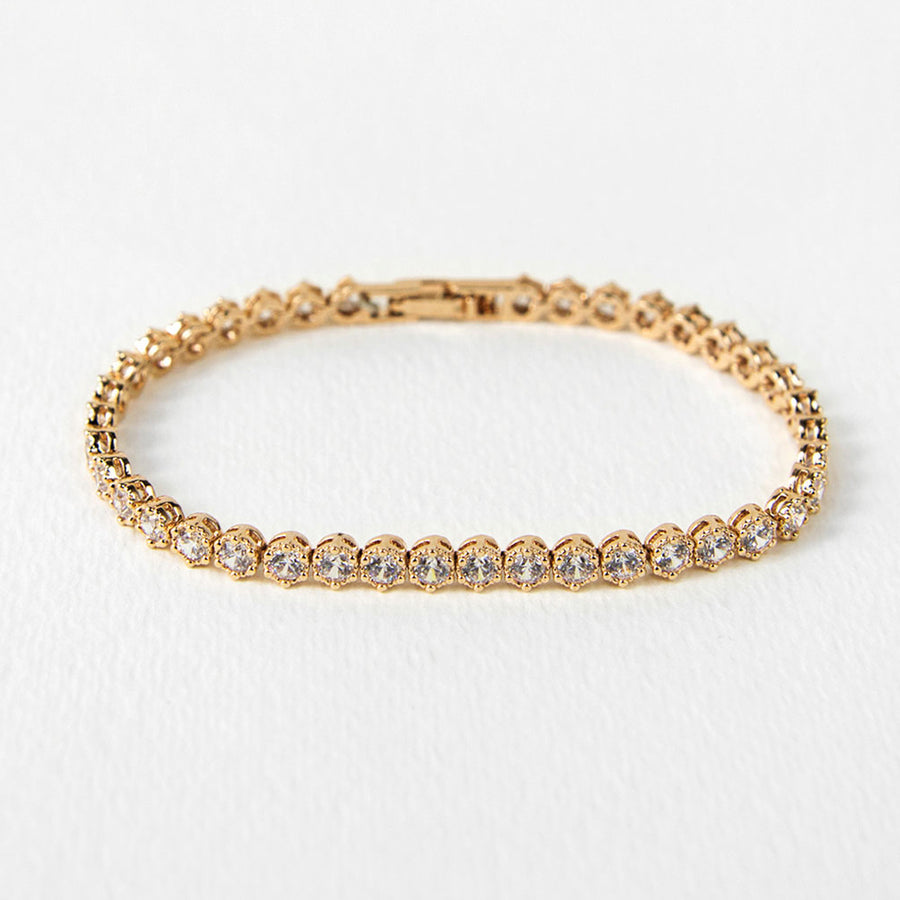 Regal Tennis Bracelet - Amy O. Bridal