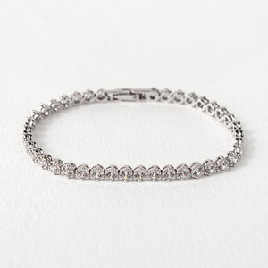 Regal Tennis Bracelet