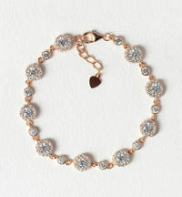 Sophia Crystal Tennis Bracelet - Amy O. Bridal