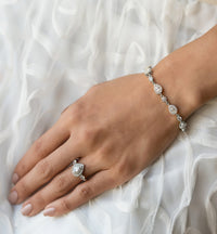 Margaux Crystal Tennis Bracelet - Amy O. Bridal