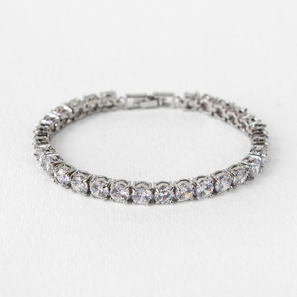 Regal Solitaire Tennis Bracelet