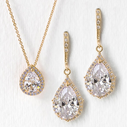 Margaux CZ Jewelry Set