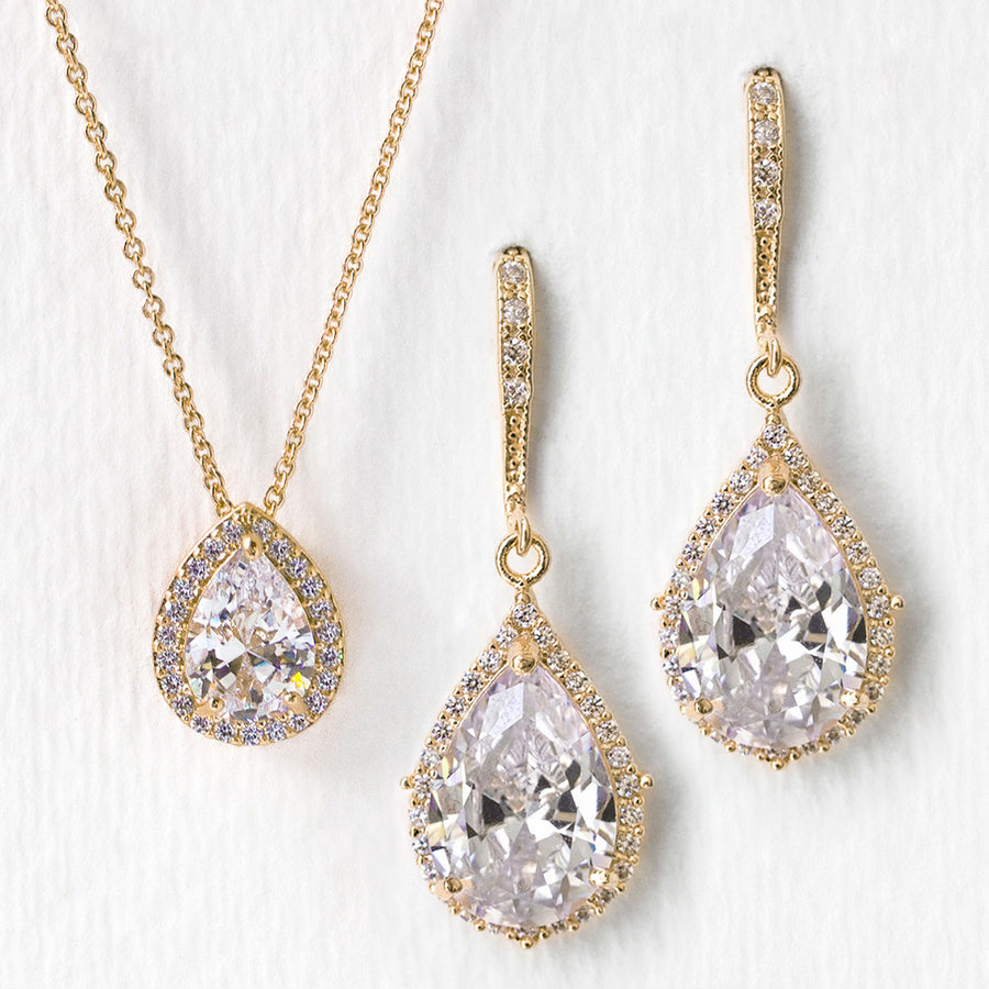 Margaux CZ Jewelry Set - Amy O. Bridal