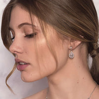 Regal Teardrop Earrings - Amy O. Bridal