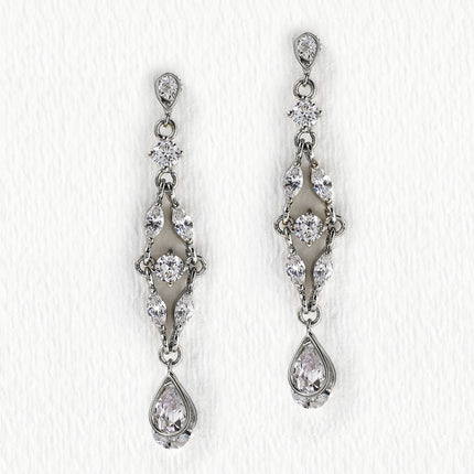 Marquise Dainty Drop Earrings