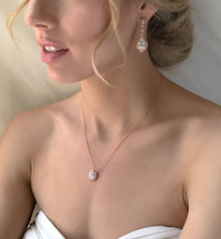 Sarina CZ Jewelry Set - Amy O. Bridal