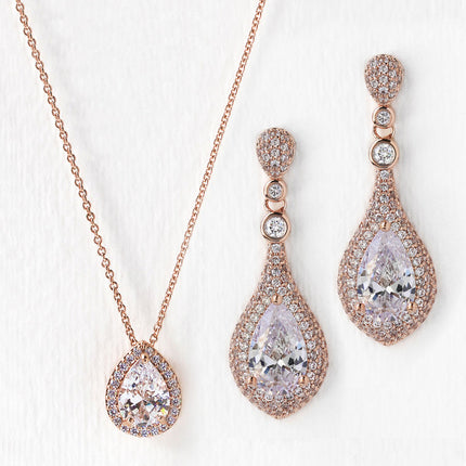 Sarina CZ Jewelry Set