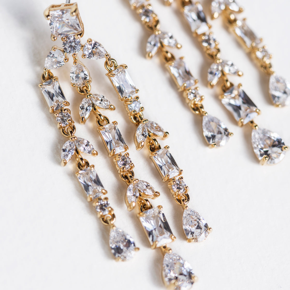 Fleur Chandelier Earrings