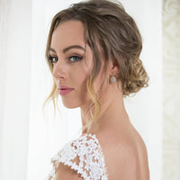 Deco Drop Earrings - Amy O. Bridal
