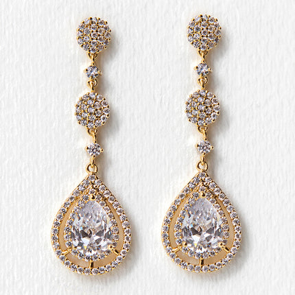Margaux Long Drop Earrings