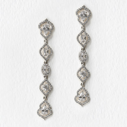 Regal Dainty Drop Earrings