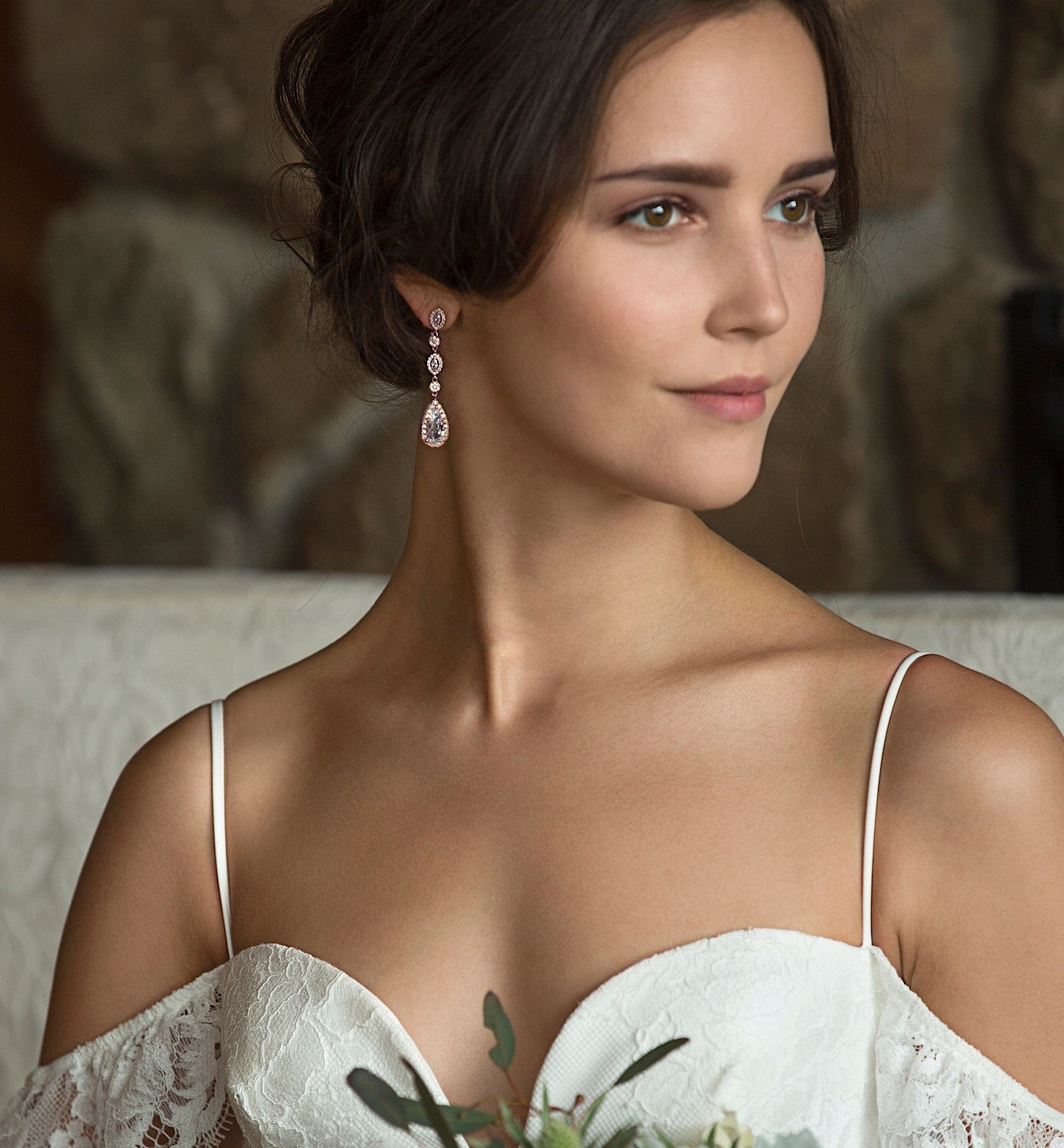Daisy Jewelry Set - Amy O. Bridal
