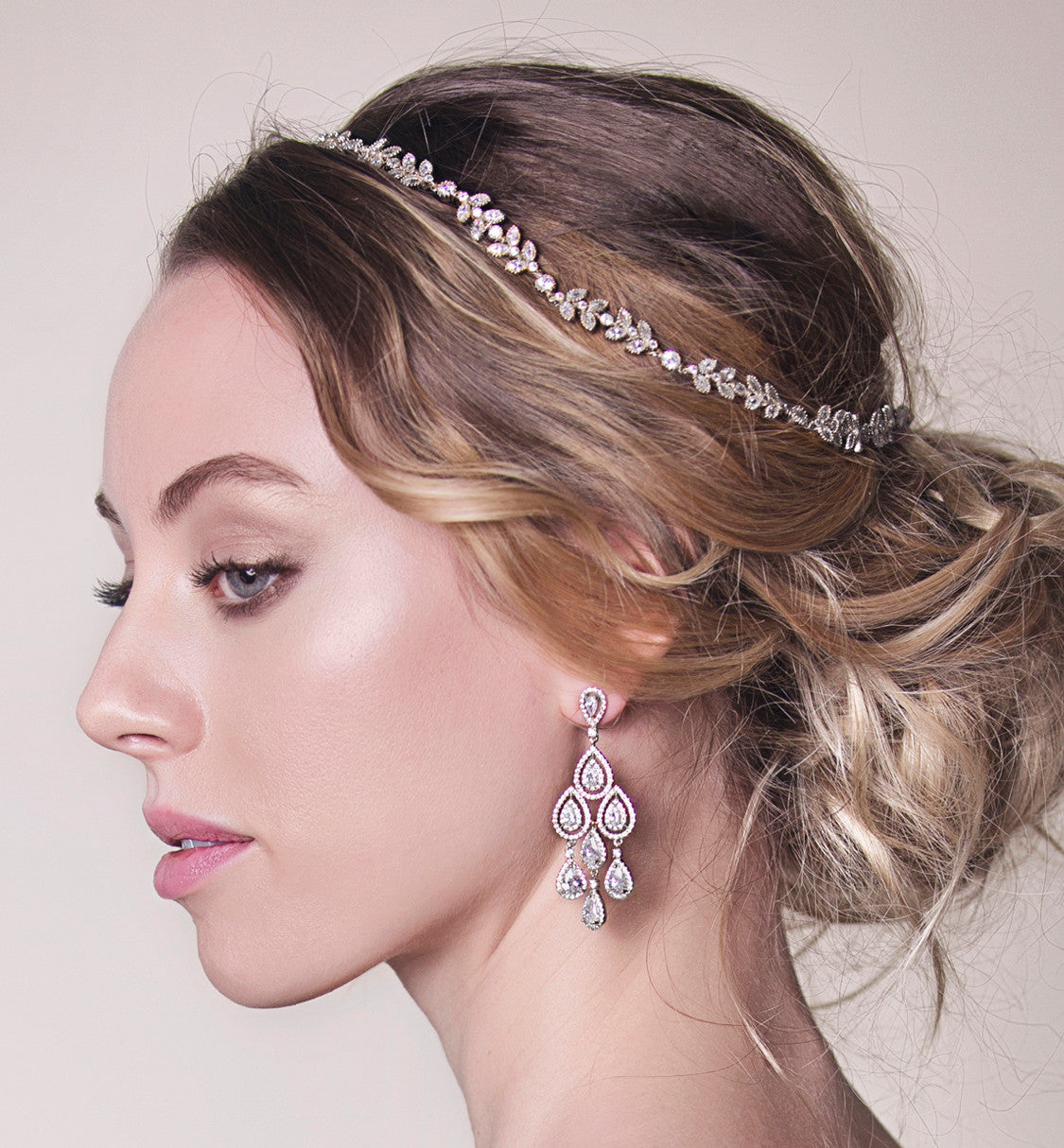 Margaux Teardrop Chandelier Earrings - Amy O. Bridal