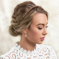 Marquise Crystal Headband - Amy O. Bridal